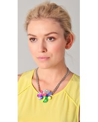 Erickson Beamon - Metallic Color Me Crazy Necklace - Lyst