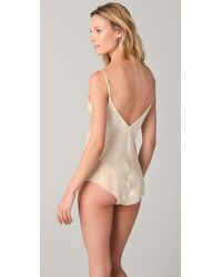 La Fee Verte | Natural Silk Bodysuit | Lyst