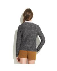 Madewell | Gray Sketch Club Cardigan | Lyst
