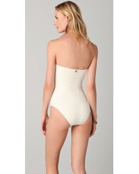 OndadeMar | Natural Riviera Colors One Piece | Lyst