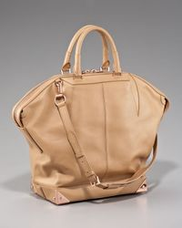 Alexander Wang | Natural Emile Leather Tote, Large | Lyst