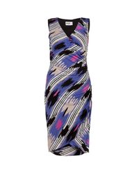 Alice By Temperley | Purple Mexican Jersey Dress | Lyst