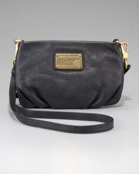 Marc By Marc Jacobs | Black 'classic Q - Percy' Crossbody Bag | Lyst