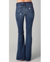 7 For All Mankind - Blue Andie Jeans - Lyst