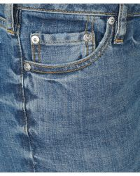 Acne Studios - Blue Kex Vintage Wash Skinny Jeans - Lyst