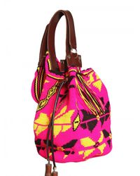 Sara Battaglia - Multicolor 'lucy' Cross Body Bag - Lyst