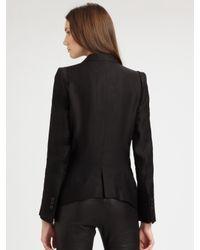 Ann Demeulemeester - Black Tassel Jacket - Lyst