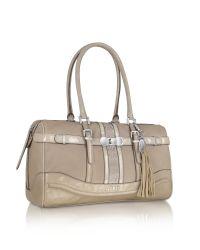 Guess | Natural Scent City - Box Satchel Bag | Lyst