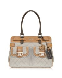 Guess | Natural Groovy - Front Pocket Satchel | Lyst