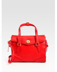 Marc By Marc Jacobs | Red Kitty St. James Satchel | Lyst