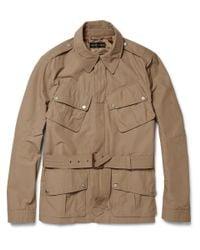 Ralph Lauren Black Label | Brown Jump Cotton-blend Jacket for Men | Lyst
