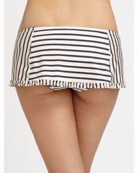 Tory Burch | White Ruffle Swim Skirt | Lyst