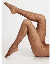 Wolford - Natural Diamant Tights - Lyst