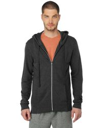 Splendid | Gray Marble French Terry Hoodie for Men | Lyst