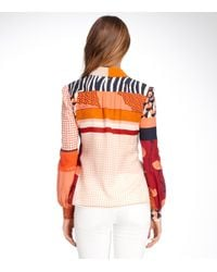 Tory Burch - Red Angelique Blouse - Lyst