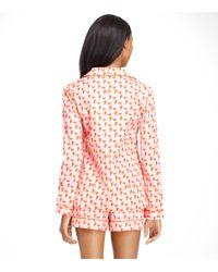 Tory Burch - Red Mireille Pyjama Set - Lyst