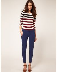 7 For All Mankind - Blue Boy Chino In Single Jersey - Lyst
