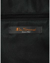 Ben Sherman - Black Iconic Barrel Bag for Men - Lyst