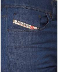 DIESEL - Blue Highkee Skinny Jean - Lyst