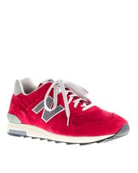 J.Crew | Red New Balance® For J.crew Sneakers for Men | Lyst