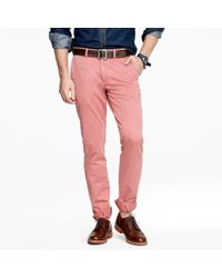 J.Crew | Purple Sun-faded Chino In 484 Fit for Men | Lyst