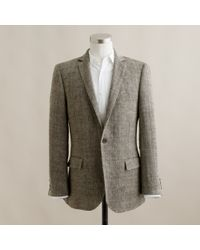 J.Crew | Natural Ludlow Sportcoat in Herringbone Italian Linen for Men | Lyst