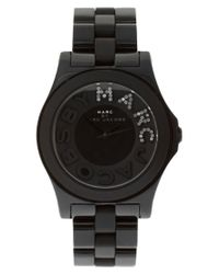 Marc By Marc Jacobs | Black Bracelet Watch | Lyst