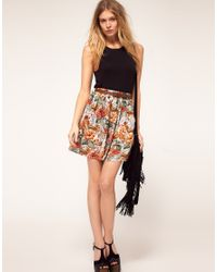 MINKPINK | Multicolor Minkpink Four Seasons Belted Skirt | Lyst