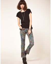 One Teaspoon | Multicolor Heros And Villains Printed Skinny Jeans | Lyst