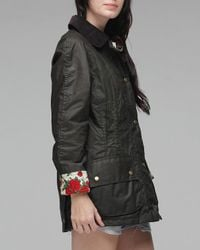 Barbour - Green Roses Liberty - Lyst