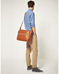 Fred Perry - Brown Messenger Bag for Men - Lyst