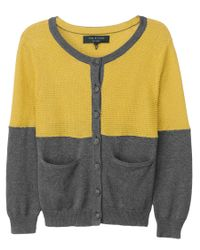 Rag & Bone | Gray Burnley Cardigan | Lyst