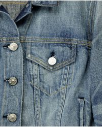 Rag & Bone - Blue The Jean Jacket - Perfect Wash - Lyst