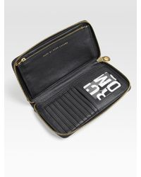 Marc By Marc Jacobs   Black Classic Vertical Zippy Wallet   Lyst