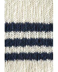 TOPSHOP - White Knitted Chunky Slub Jumper - Lyst