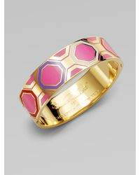 kate spade new york - Multicolor Geometric Bangle Bracelet - Lyst