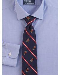 Polo Ralph Lauren | Blue Printed Silk Tie for Men | Lyst