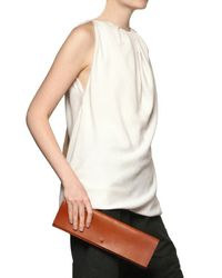 Rick Owens - Brown Leather Clutch - Lyst