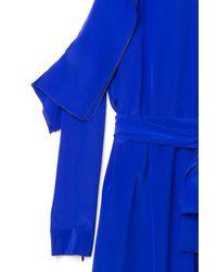 Vionnet | Blue Shoulder Cut-out Dress | Lyst