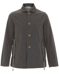 Folk | Gray Grey Rousous Cotton Jacket for Men | Lyst