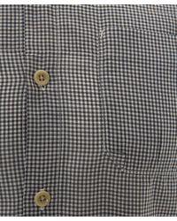 Folk | Blue Navy Gingham Two Pocket Shirt for Men | Lyst