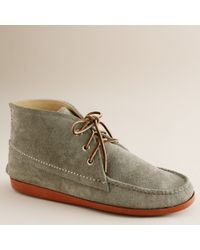 J.Crew | Gray Mens Quoddy® Suede Chukka Boots for Men | Lyst