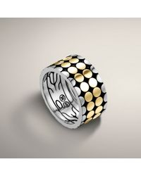 John Hardy | Metallic Band Ring for Men | Lyst