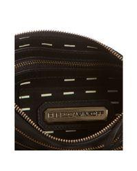 Rebecca Minkoff - Black 3-zip Rocker Leather Crossbody Bag - Lyst