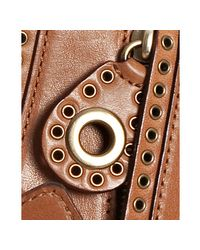 Rebecca Minkoff - Luggage Brown Leather Vanity Crossbody Bag - Lyst