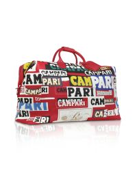 Bric's | Red Campari Munari Limited Edition Weekender Travel Bag for Men | Lyst