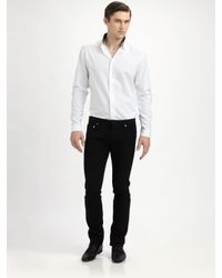 Dior Homme | Black Slim Straight-Leg Jean for Men | Lyst