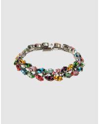 Erickson Beamon - Metallic Bracelet - Lyst