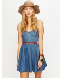 Free People | Red Sierra Print Belt | Lyst