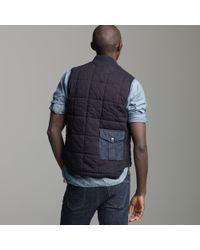 J.Crew   Blue Mister Freedom® Midnight Chiller Vest for Men   Lyst